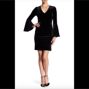 NWT $159 Karen Kane Embellished Bell Sleeve Dress
